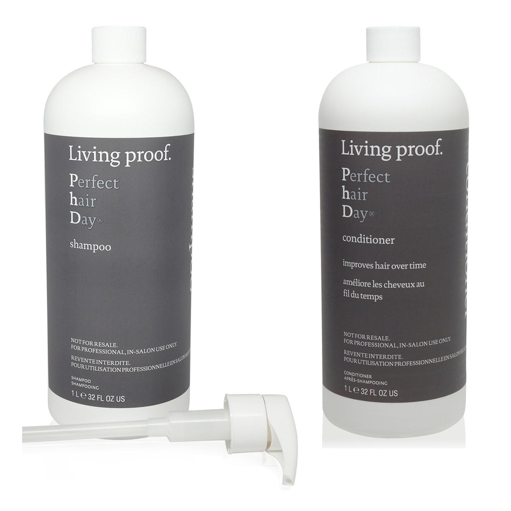 LIVING PROOF | PHD SHP LTR+ PHD CONT LTR (COMBO SET) WITH TWO PUMPS