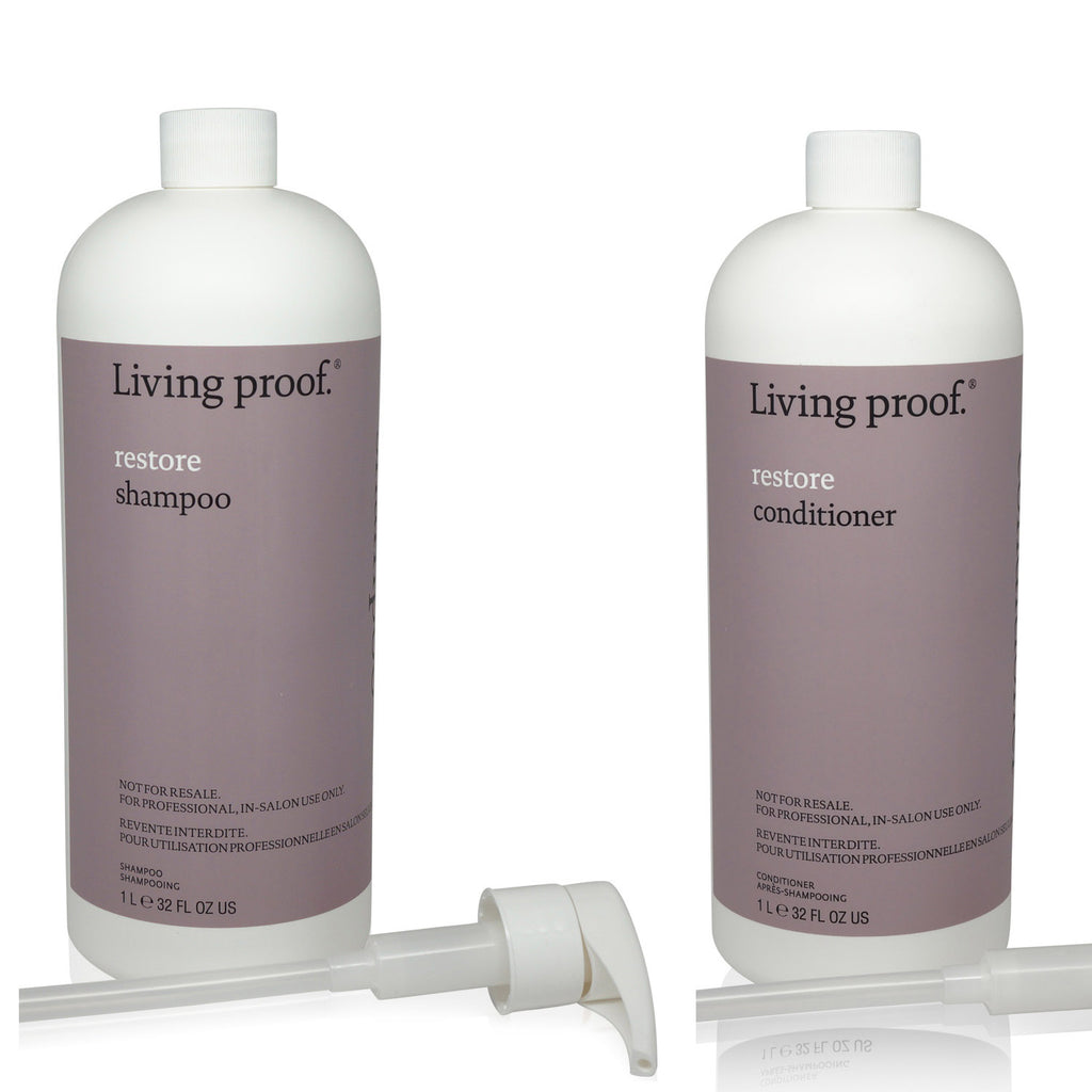 LIVING PROOF | RESTORE SHP LTR + RESTORE CONT LTR (COMBO SET) WITH 2 PUMPS
