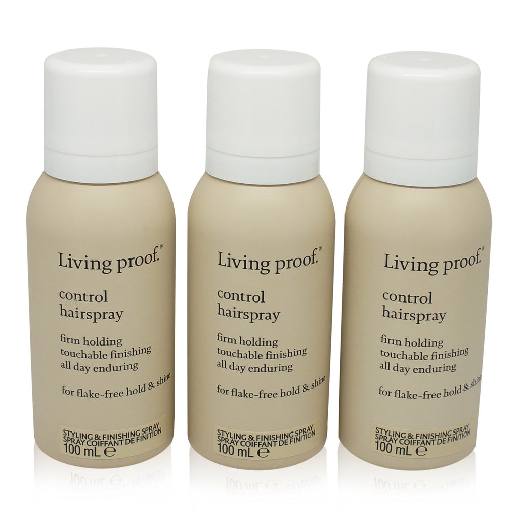 LIVING PROOF | CONTROL HAIRSPRAY TRAVEL SIZE 3 PACK  (AEROSOL)
