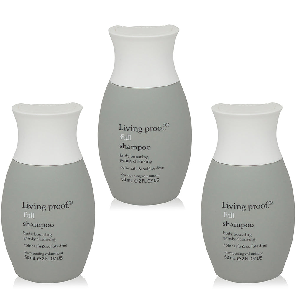 LIVING PROOF | FULL | SHAMPOO | TRAVEL SIZE 3 PACK