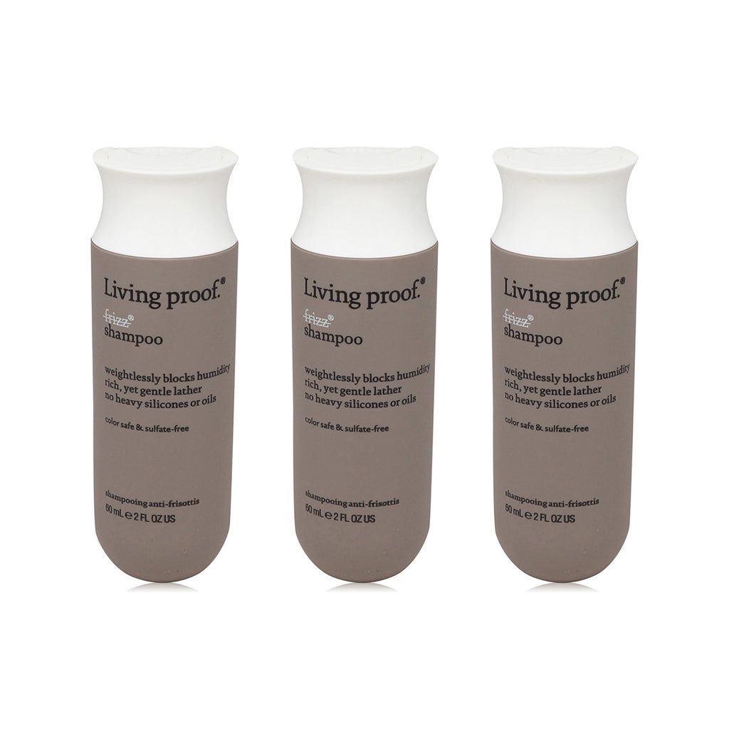LIVING PROOF | NO FRIZZ SHAMPOO TRAVEL SIZE 3 PACK