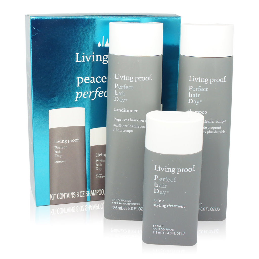 LIVING PROOF | PEACE LOVE PERFECT HAIR KIT