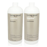 LIVING PROOF | TIMELESS | SHAMPOO AND CONDITIONER LITER SIZE COMBO PACK with pumps