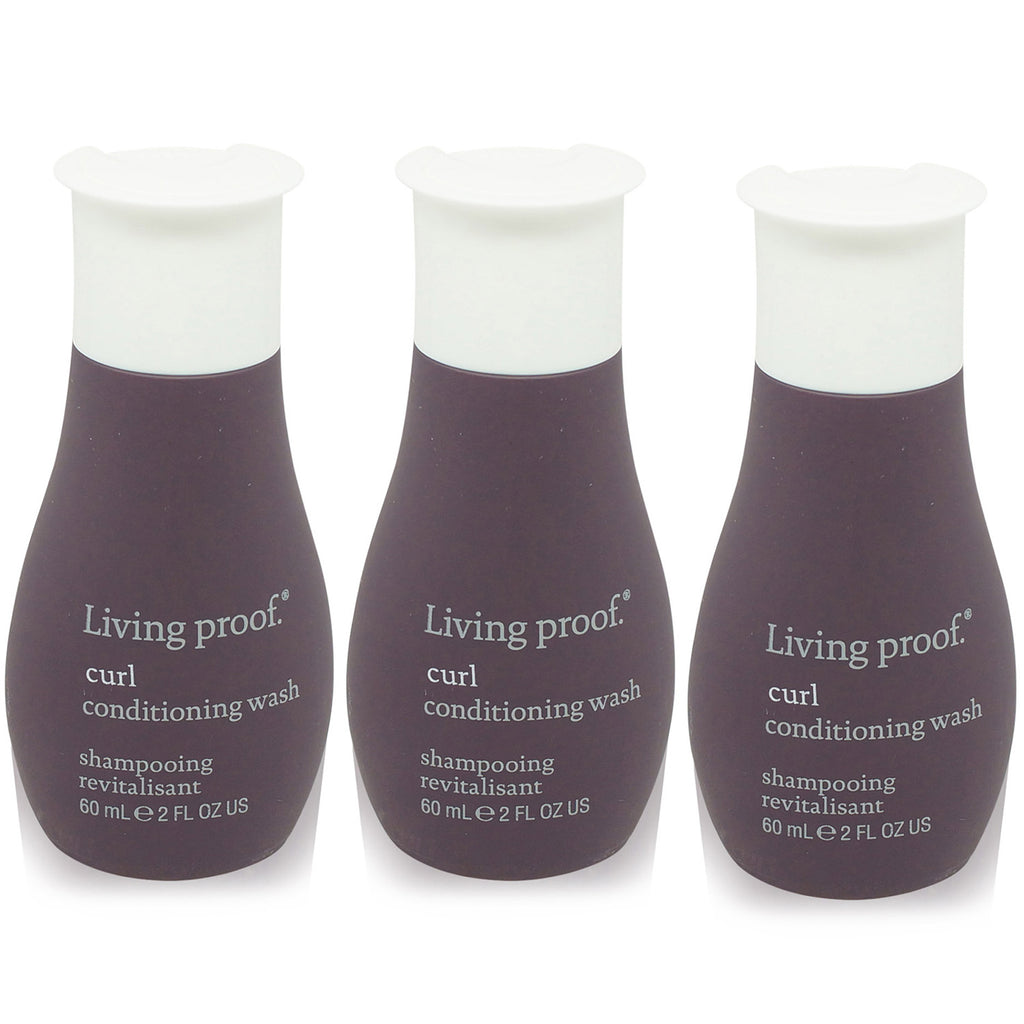 LIVING PROOF | CURL | CONDITIONING WASH TRAVEL SIZE 3 PACK