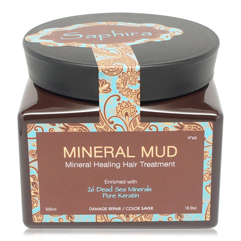 SAPHIRA ~ MINERAL MUD 16.9OZ/500ML