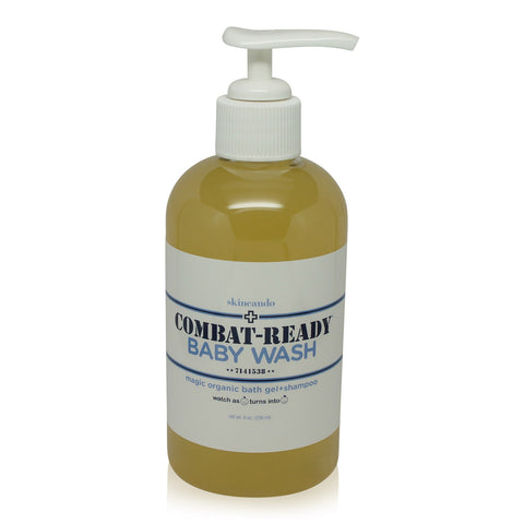 SKINCANDO | COMBAT READY-BABY WASH  | UNSCENTED 8OZ