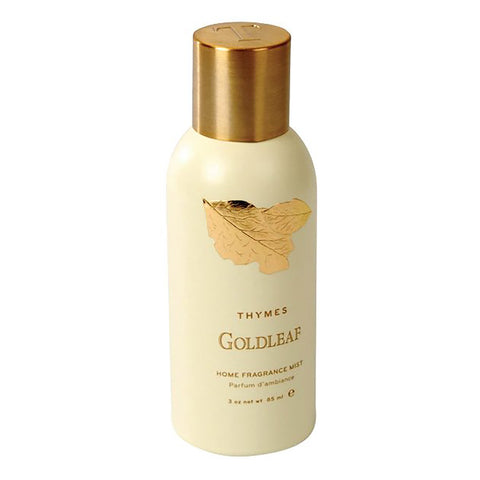 Thymes Home Fragrance Mist Goldleaf 3-Oz Can
