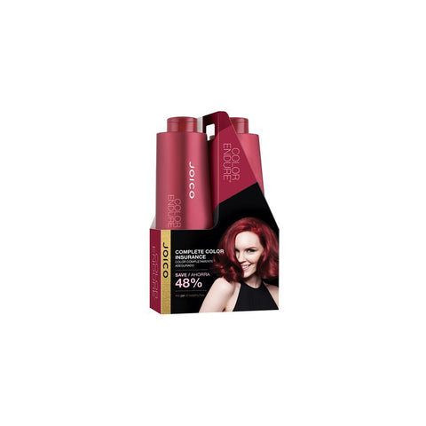 JOICO ~ COLOR ENDURE ~ SHAMPOO AND CONDITIONER ~ 1 LITER COMBO PACK