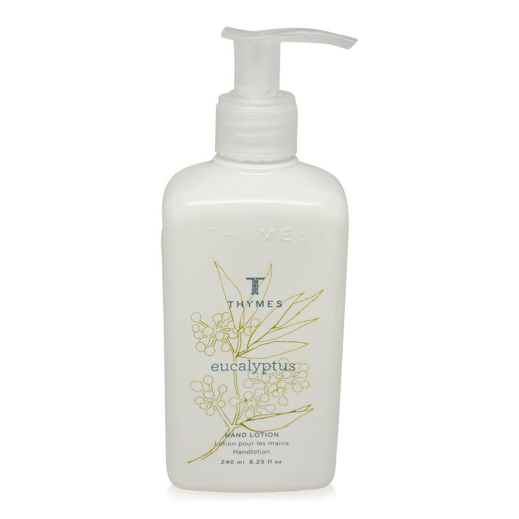 Thymes Hand Lotion Eucalyptus 8.25-Ounce Pump Bottle