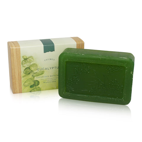 Thymes Eucalyptus Luxerious Bar Soap 6.8-Ounce Bar