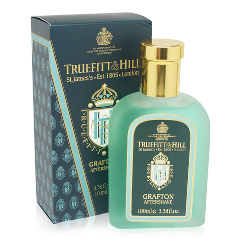 TRUEFITT ~ GRAFTON AFTERSHAVE SPLASH