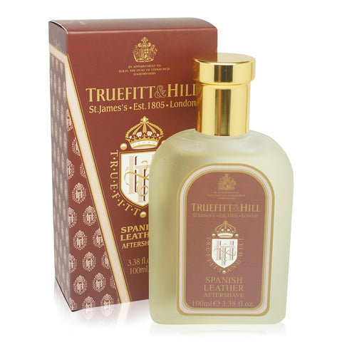 TRUEFITT | SPANISH LEATHER AFTERSHAVE SPLASH