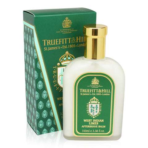 TRUEFITT ~ WEST INDIAN LIMES AFTERSHAVE BALM
