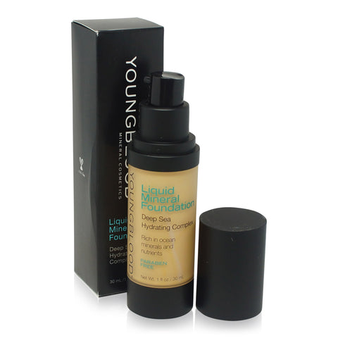 YOUNGBLOOD ~ LIQUID MINERAL FOUNDATION-SAND