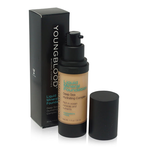 YOUNGBLOOD ~ LIQUID MINERAL FOUNDATION-SUN KISSED