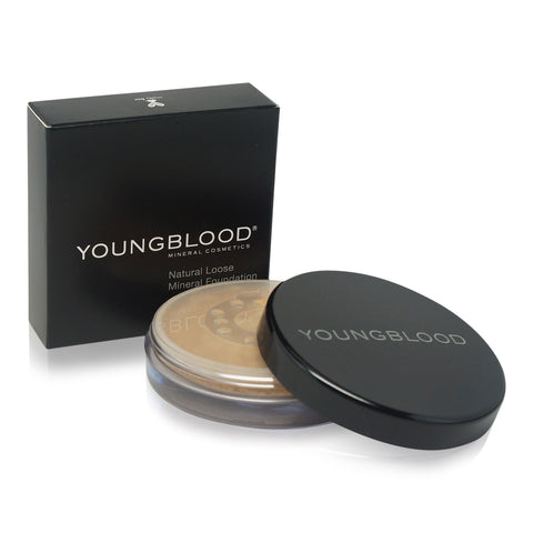 YOUNGBLOOD ~ LOOSE MINERAL FOUNDATION-HONEY