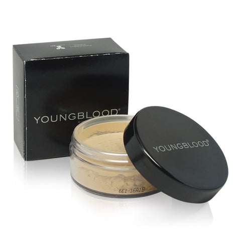 YOUNGBLOOD ~ LOOSE MINERAL RICE POWDER-MEDIUM