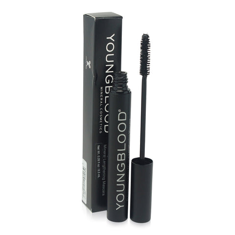 YOUNGBLOOD ~ MINERAL LENGTHENING MASCARA -BLACKOUT