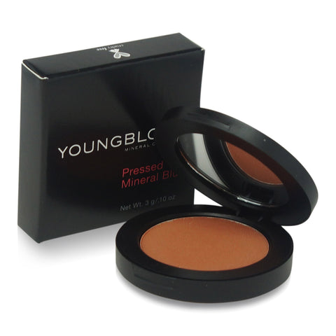 YOUNGBLOOD ~ PRESSED MINERAL BLUSH -CABERNET