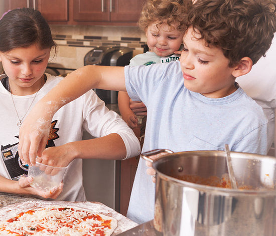 Kids' Meal Kits Pizza Party Ideas