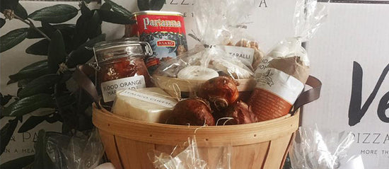 Holiday Gift Baskets With Authentic Italian Specialties