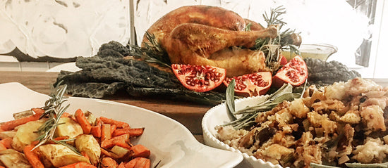 Vero's Gourmet Thanksgiving Dinner In A Box A Complete Food Bundle Kit