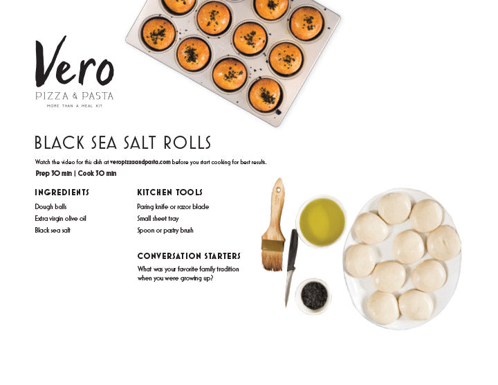 Black Sea Salt Rolls