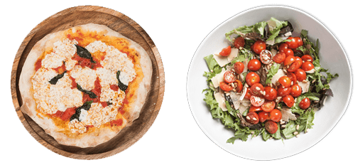 Margherita Pizza + Insalata Mista