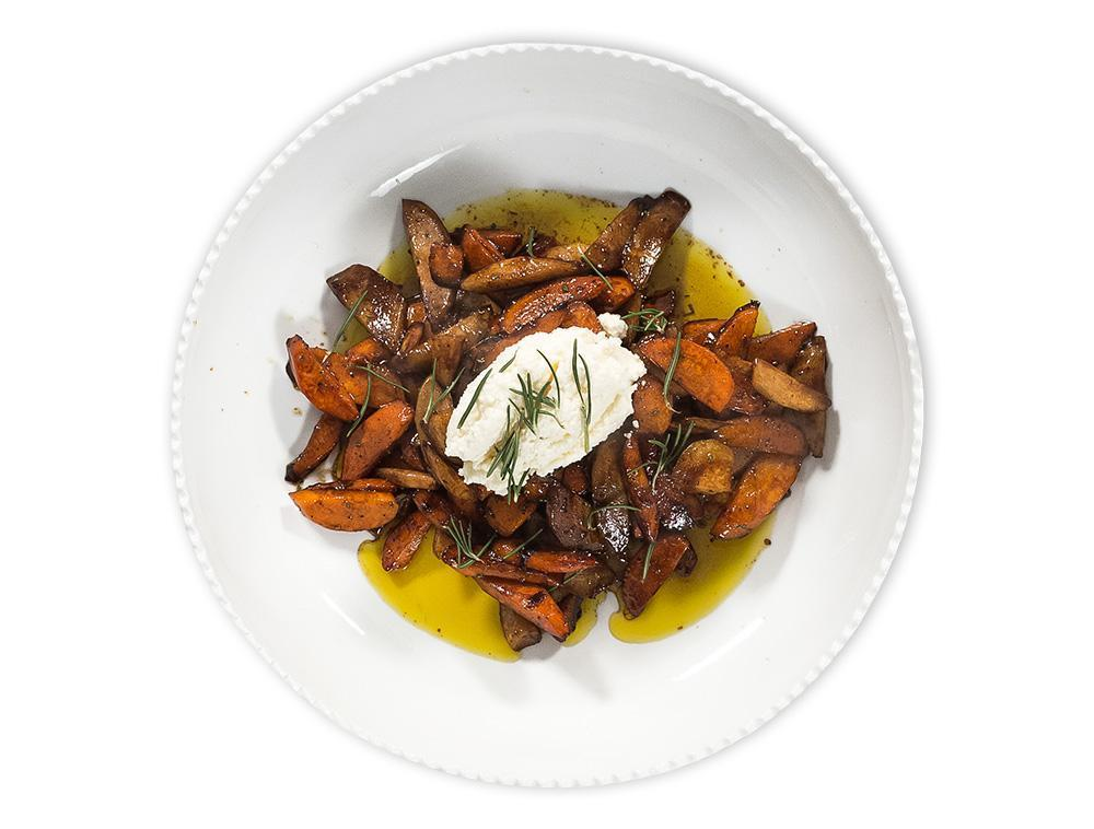 Balsamic Roasted Carrots for 4