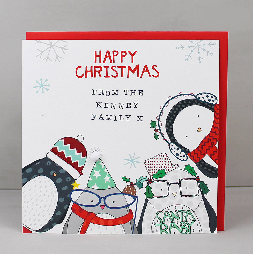 New! Personalised Christmas cards just added to our website!