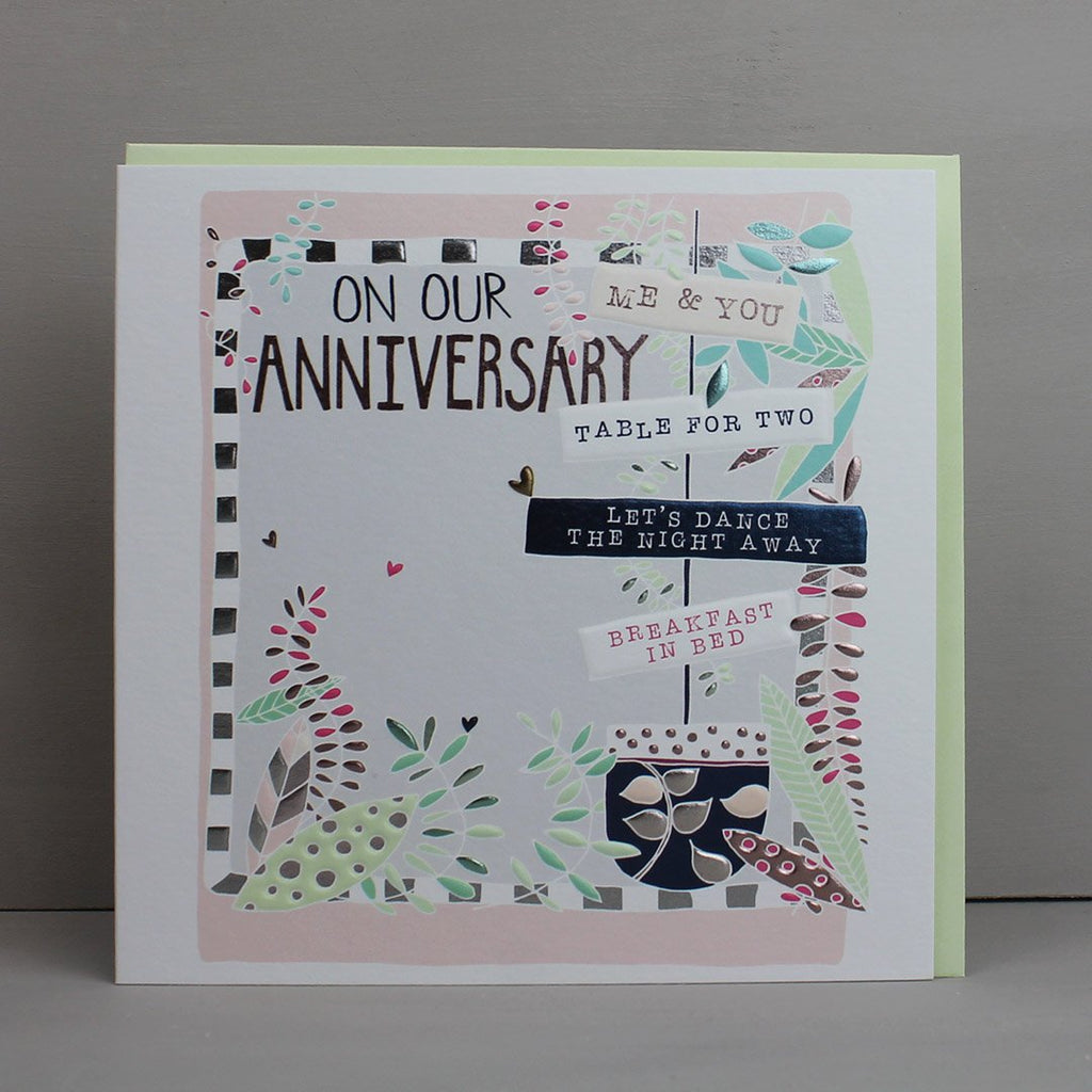 Our Wedding Anniversary Card