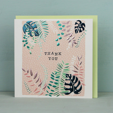Mixed pack of 5 Botanical cards