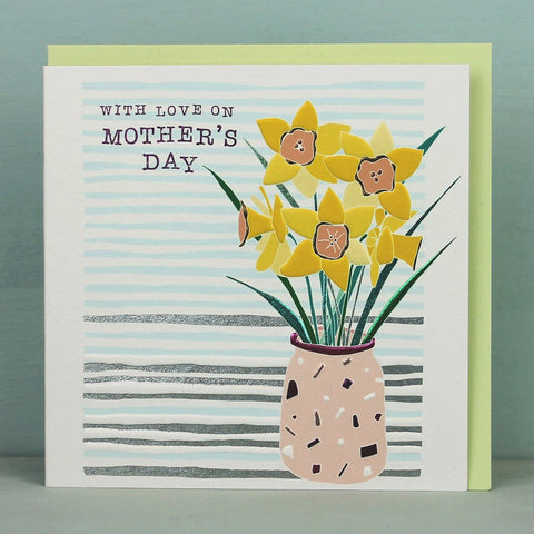 With love on Mother's Day - Daffodils