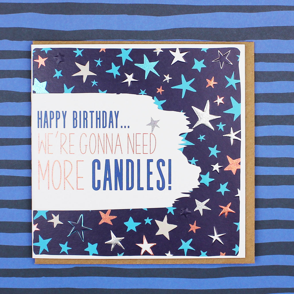 We're Gonna Need More Candles! Birthday Card (BS20)