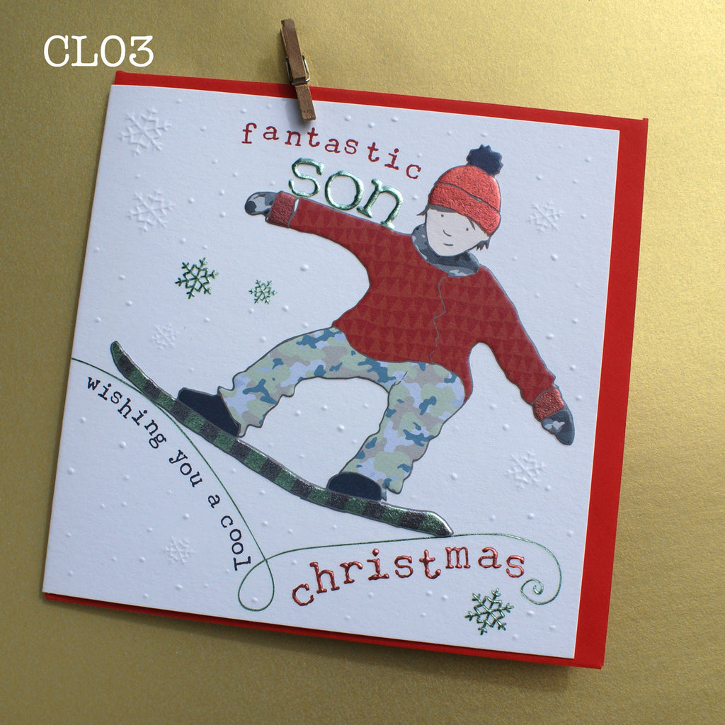 Christmas Card - Fantastic Son