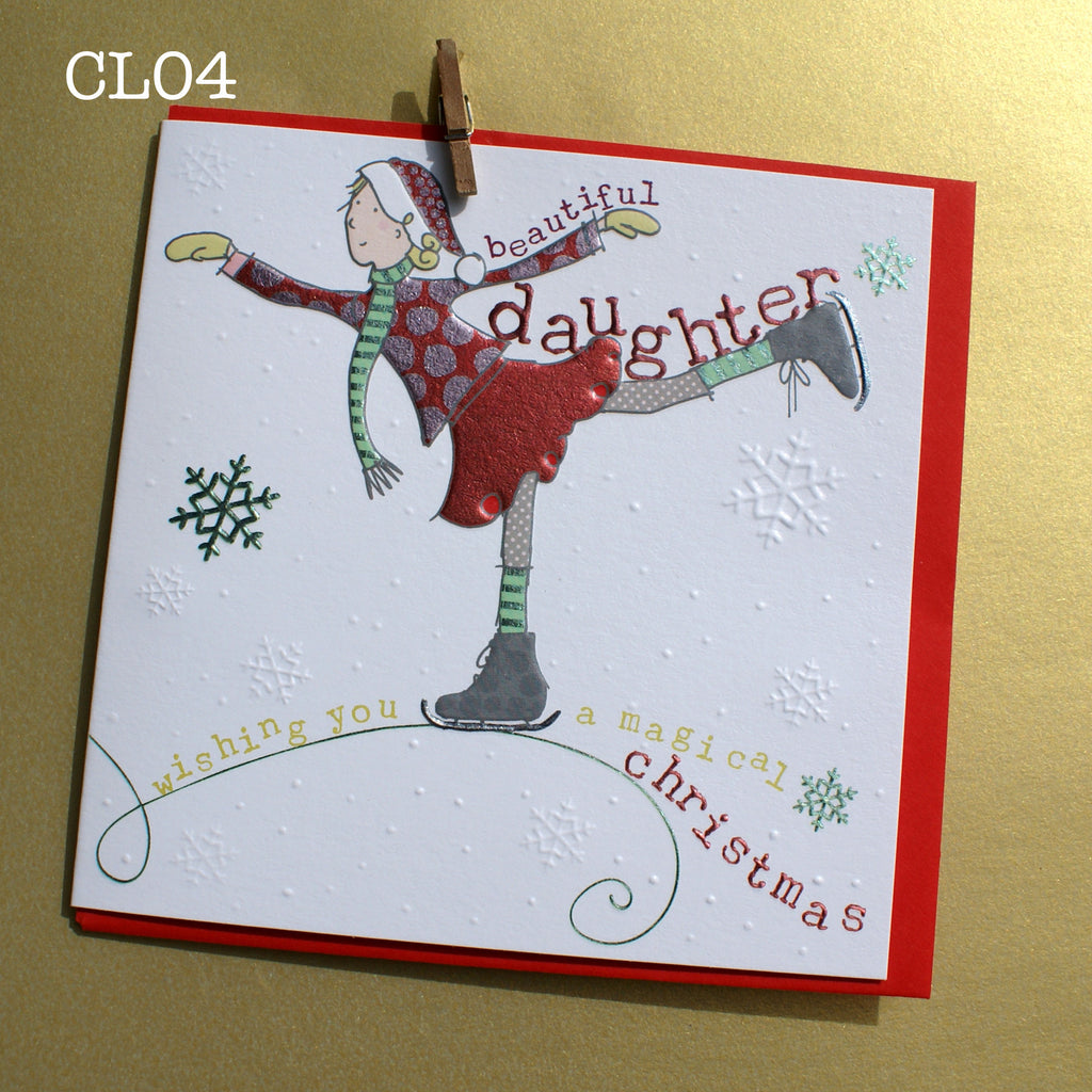Christmas Card - Beautiful Daughter