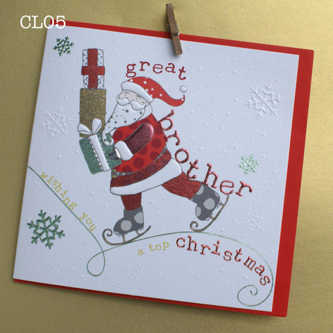 Christmas Card - Great Brother