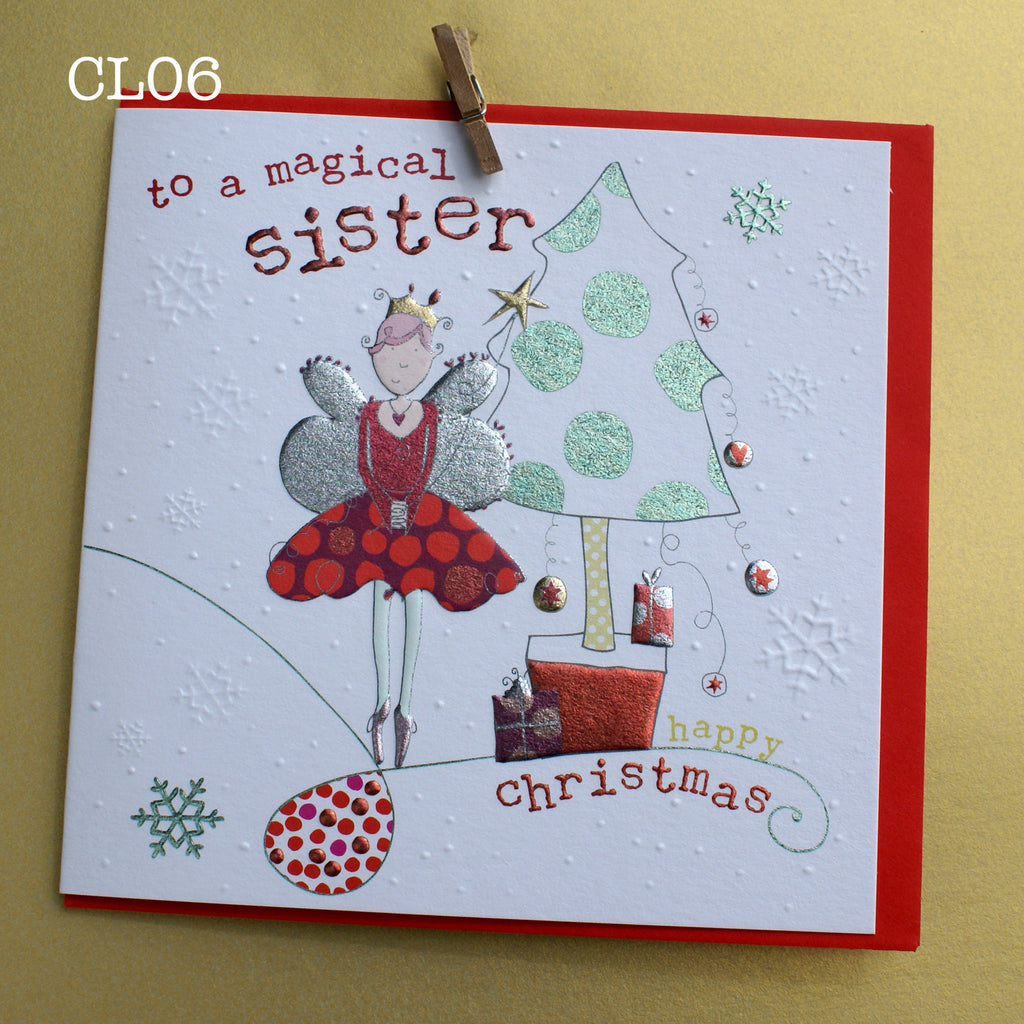 Christmas Card - Special Sister (CL06)