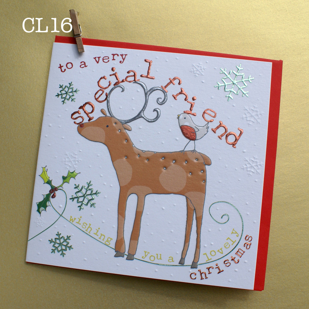 Christmas Card - Very Special Friend