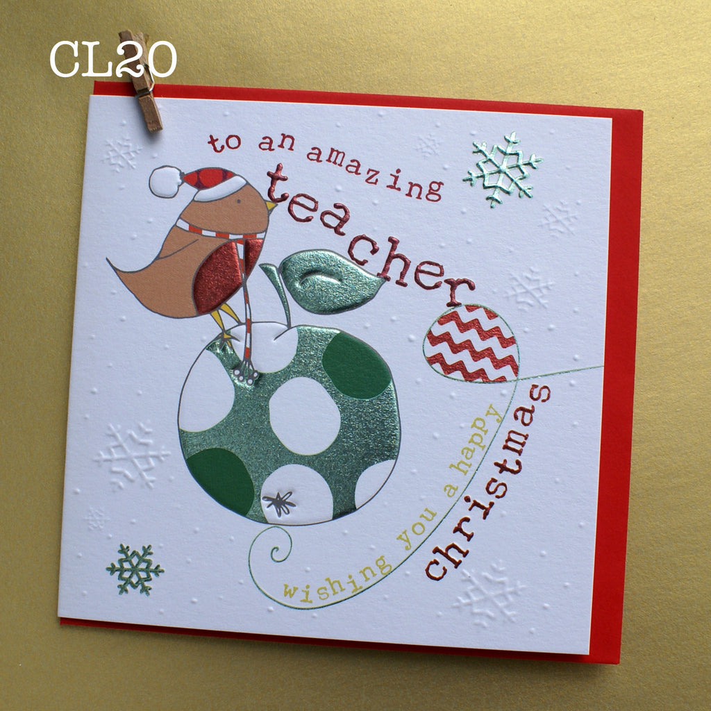 Christmas Card - Amazing Teacher