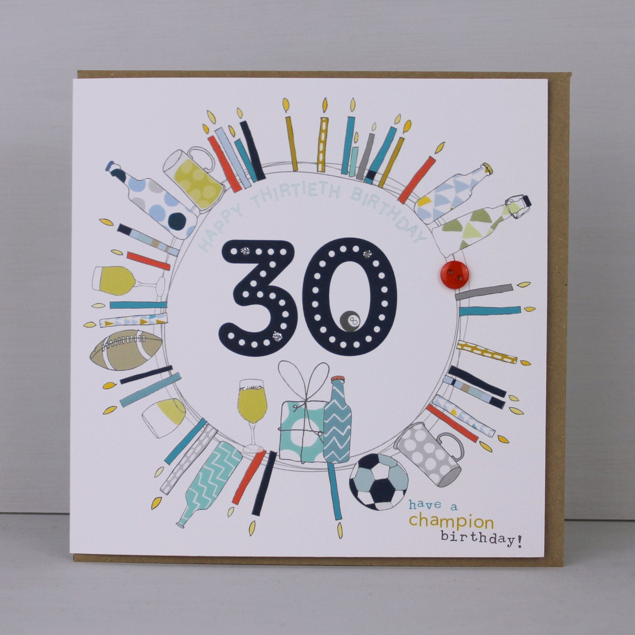 Greeting card male aged 30 birthday card molly mae male aged 30 birthday card col22 bookmarktalkfo Choice Image