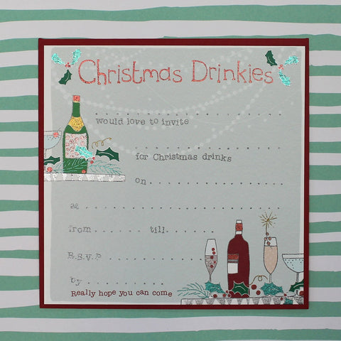 8 pack - Christmas Drinkies (CSP01)
