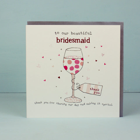Beautiful Bridesmaid - Wine (HT09)