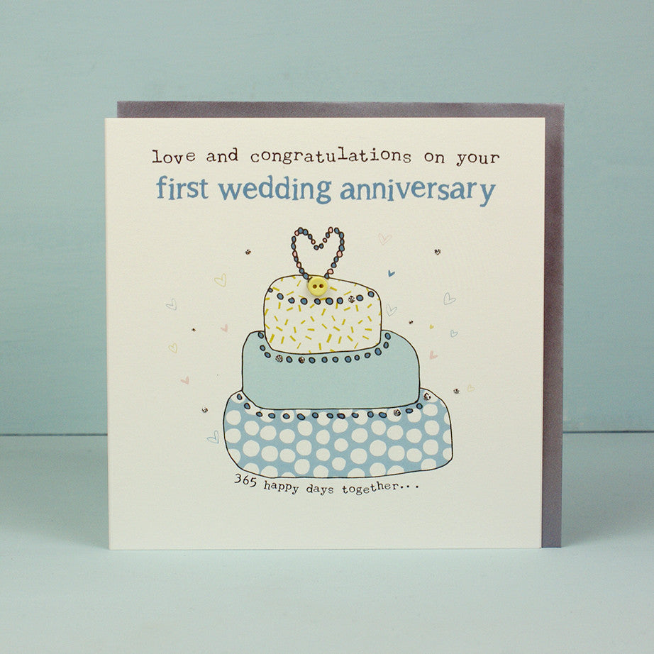 Your First Wedding Anniversary