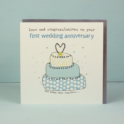 Your First Wedding Anniversary (HT17)
