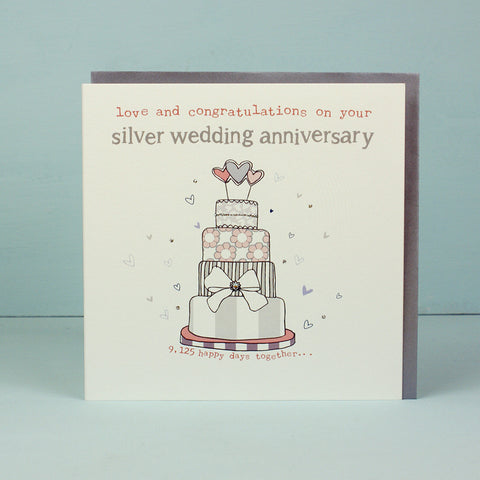 Your Silver Wedding Anniversary (HT18)