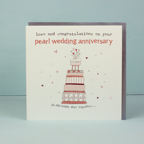 Your Pearl Wedding Anniversary (HT19)