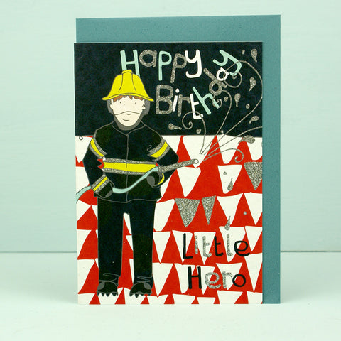 Happy Birthday Little Hero Fireman