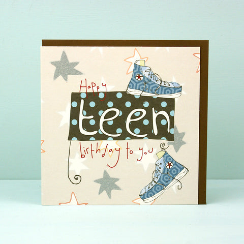 Teen Birthday boy card