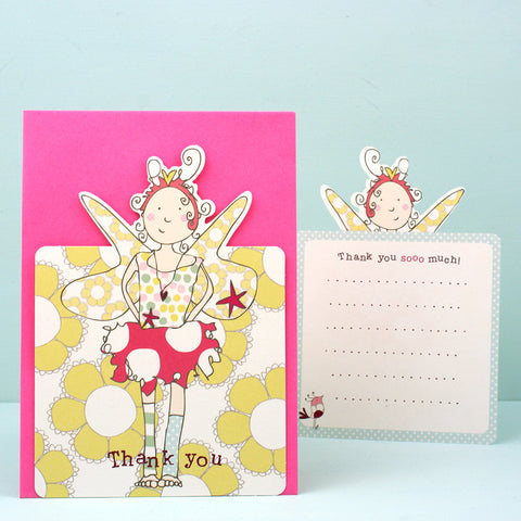 8 Thank you pack - Fairy Princess